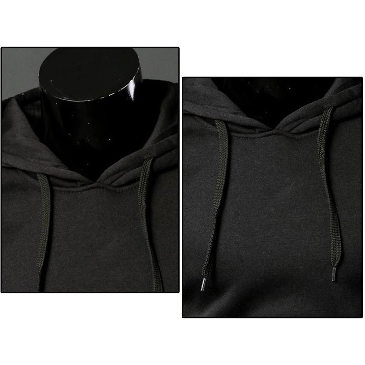 Nuevo-Sudaderas-con-capucha-informal-de-moda-de-hombre-de-primavera-otono-F1O6 miniatura 6