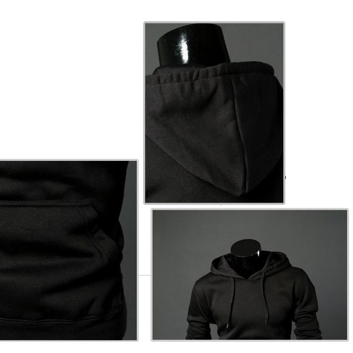 Nuevo-Sudaderas-con-capucha-informal-de-moda-de-hombre-de-primavera-otono-F1O6 miniatura 7