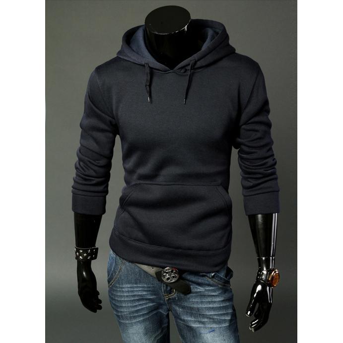 Nuevo-Sudaderas-con-capucha-informal-de-moda-de-hombre-de-primavera-otono-F1O6 miniatura 9