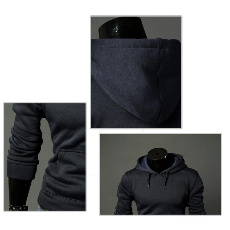 Nuevo-Sudaderas-con-capucha-informal-de-moda-de-hombre-de-primavera-otono-F1O6 miniatura 13