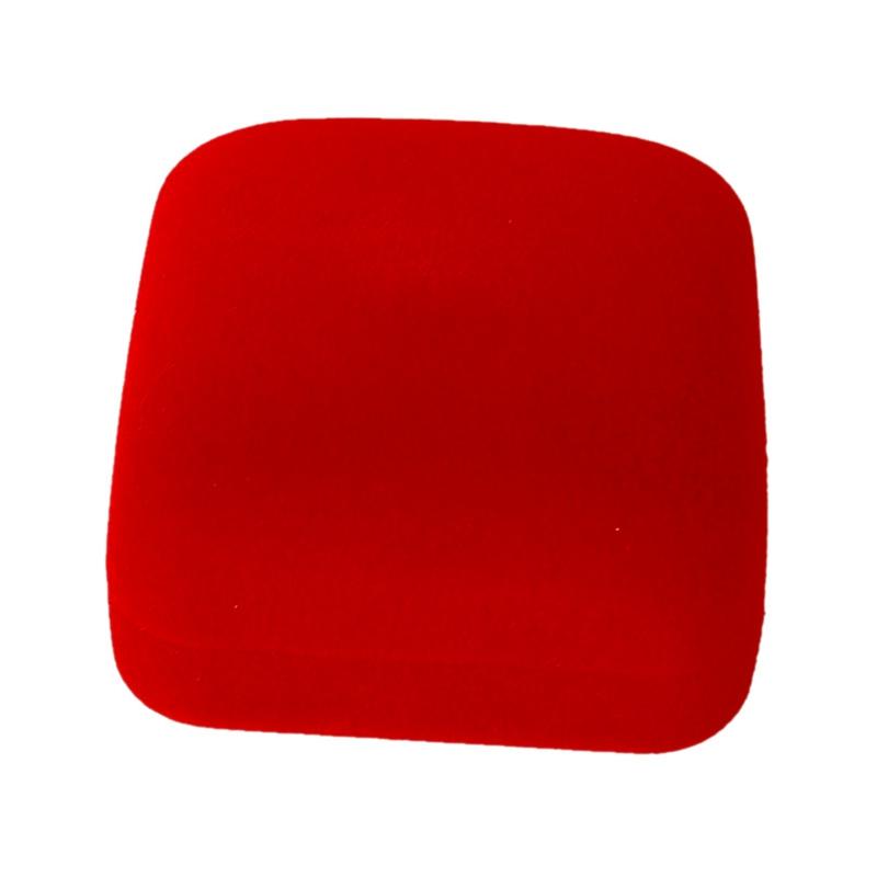 3x(1 Jewel Kasten Box Rotes Geschenk Ringe Ohrringe Schmuck Samt Display M1i7) Mild And Mellow