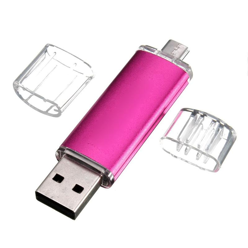 4GB-USB-Speicherstick-OTG-Mikro-USB-Flash-Drive-Handy-PC-Blau-J4S2-n60 Indexbild 6