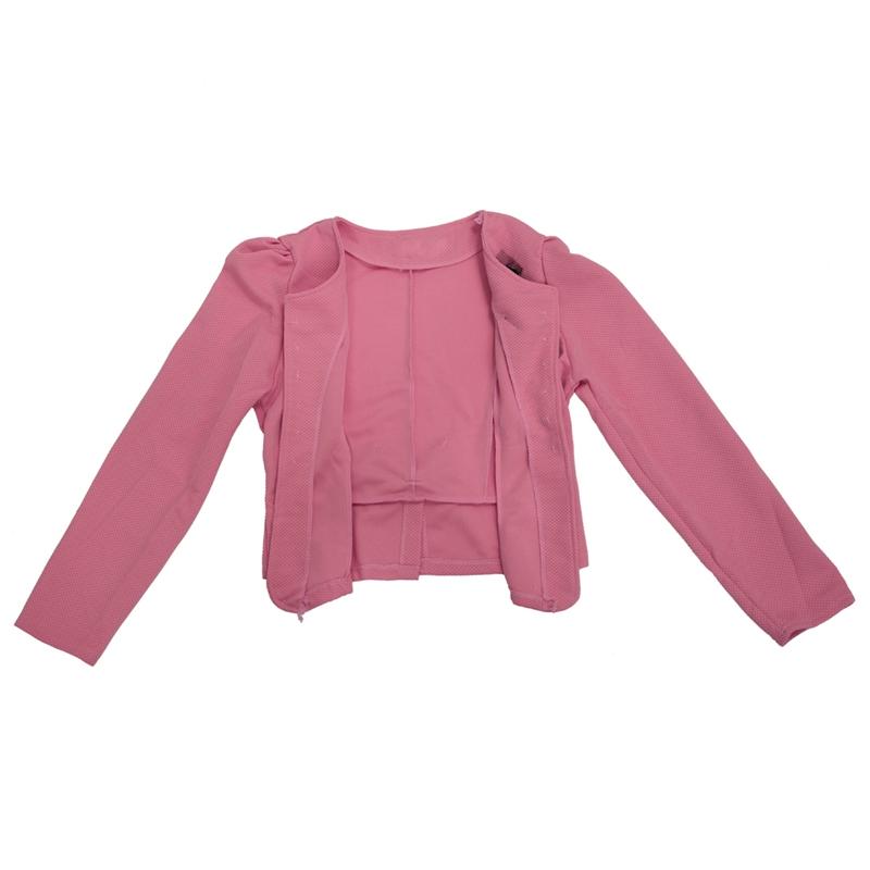 1X-Chaqueta-delgada-de-moda-de-mujer-Traje-de-Blazer-de-manga-larga-Abrigo-A9S8 miniatura 5