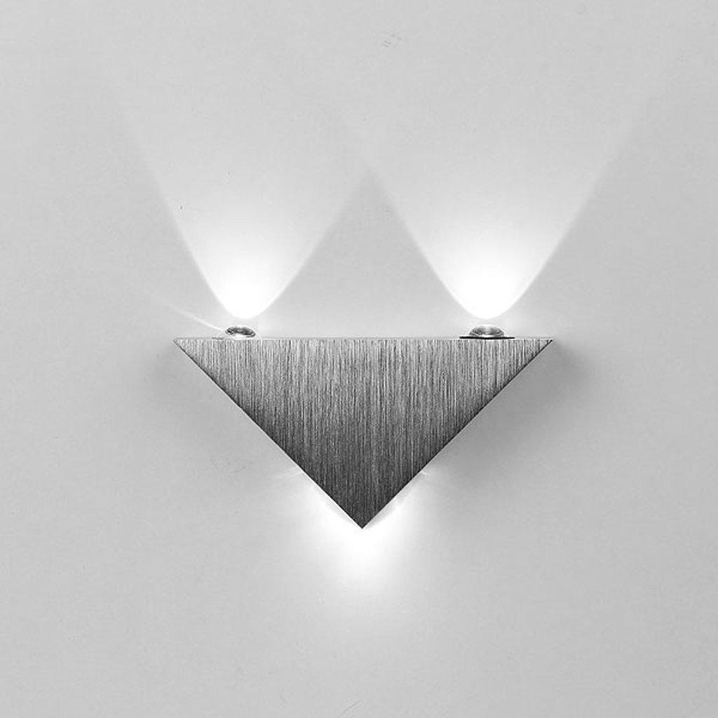 3w moderne weiss led wandbeleuchtung wandleuchte aluminum - Moderne wandbeleuchtung ...