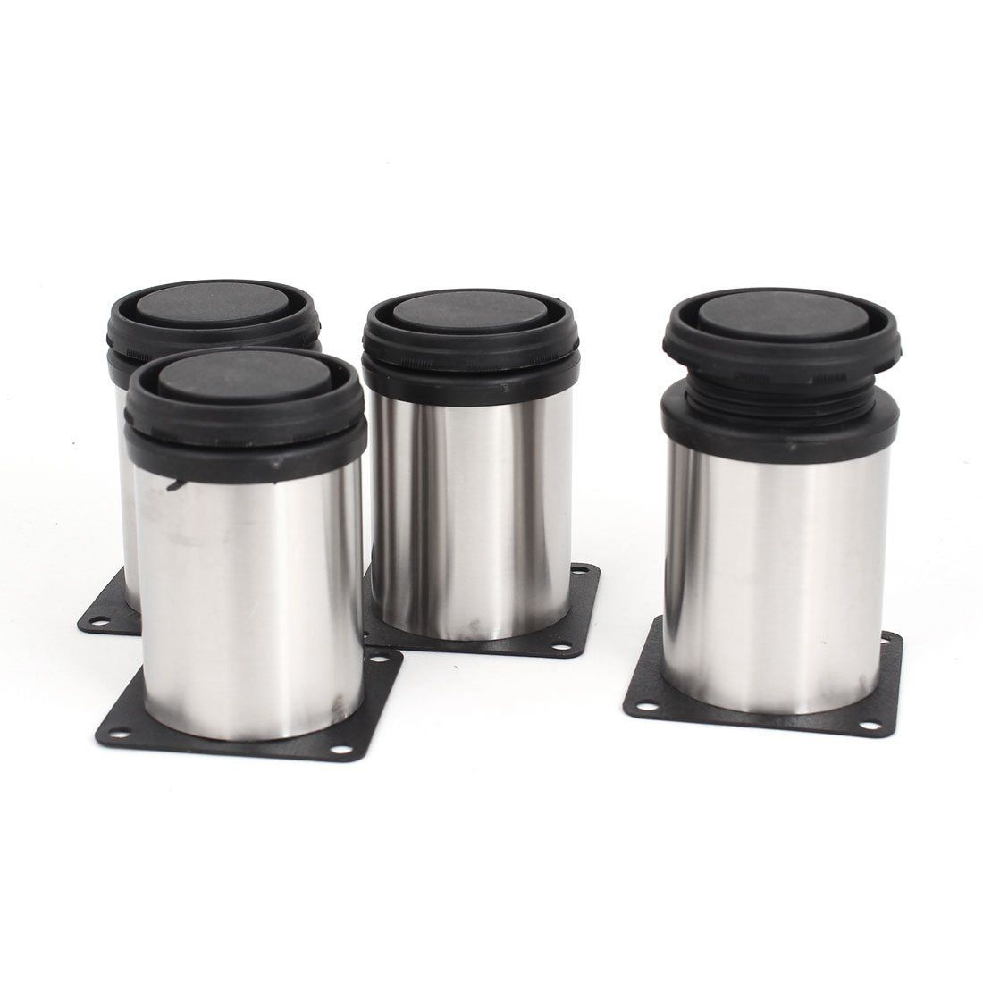 gewicht 358 g hauptfarbe silber ton schwarz zylinder groesse geschlossen 80 x 50 mm h d material edelstahl kunststoff produkt name verstellbar - Kuechenschraenke