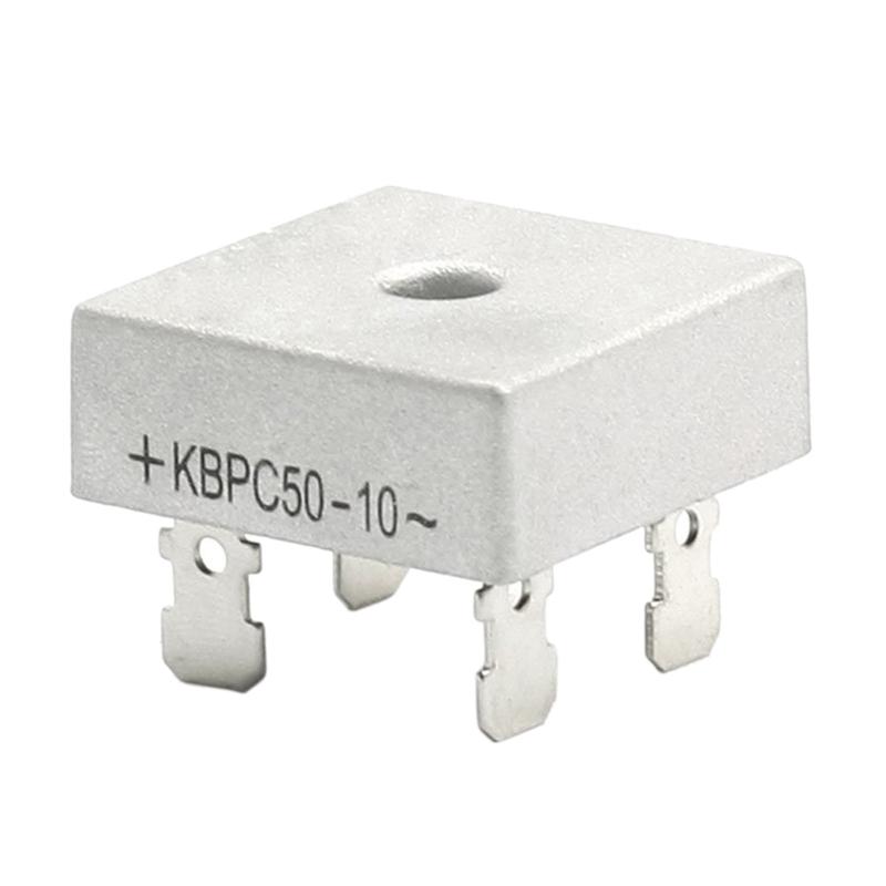 KBPC50-10 1000V 50A Metal Housing Bridge Rectifier I8S3
