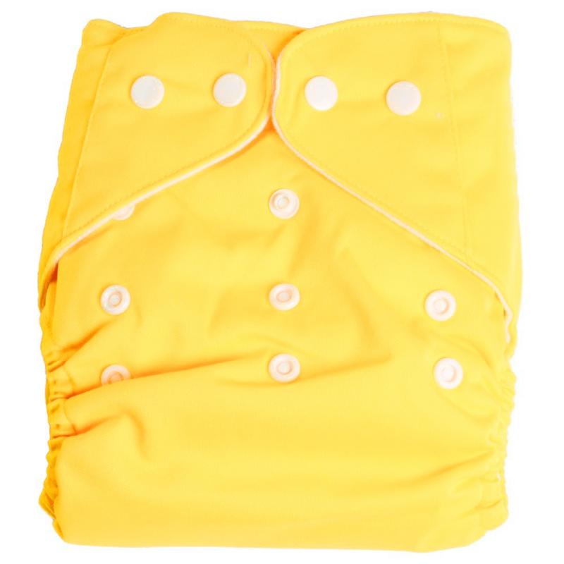 Giallo Panno per pulizia del pannolino per neonati lavabile da 1 pezzo riut J1G8