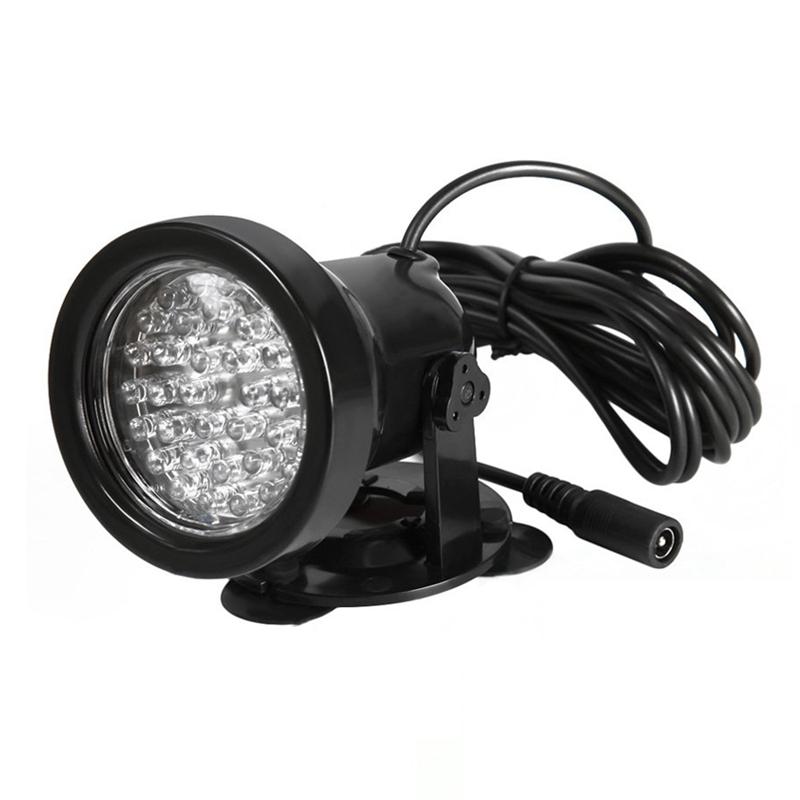 2pcs 36 led faerbige teichbeleuchtung unterwasser aquarium teich strahler l f8n2 ebay. Black Bedroom Furniture Sets. Home Design Ideas