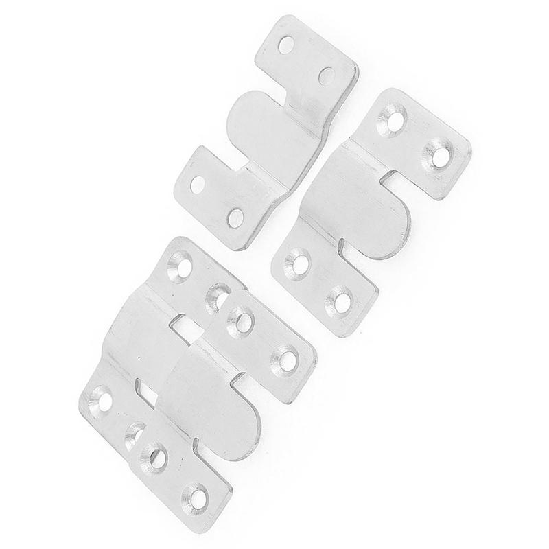 Tauchen ABC & Blei 4 Stk Moebel Sofa Foto Frame Interlock Halterung VerriegelungStecker haenge T2C6