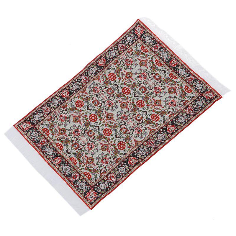 1//12 Dollhouse Miniature Furniture Floor Rug Carpet 24 x 15cm AD
