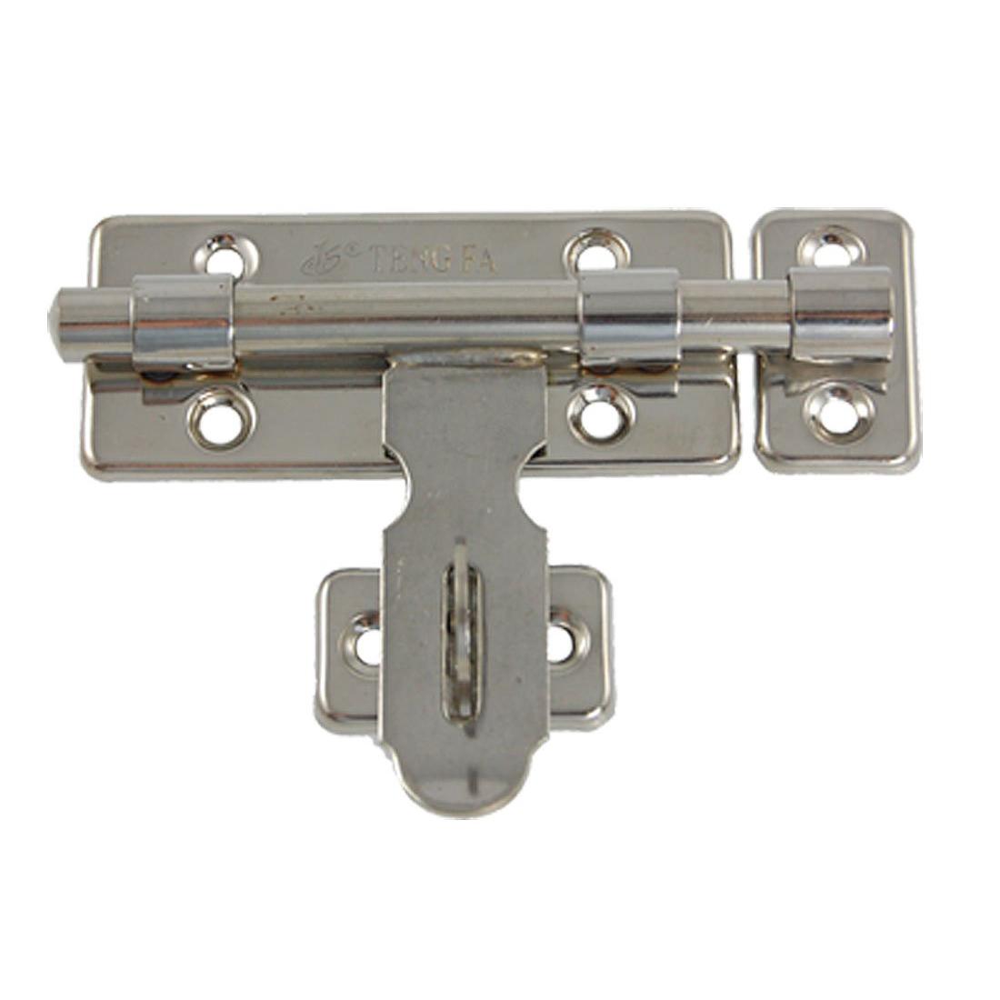 Generic Hardware Door Lock Barrel Bolt Latch Padlock Clasp Set K5m6