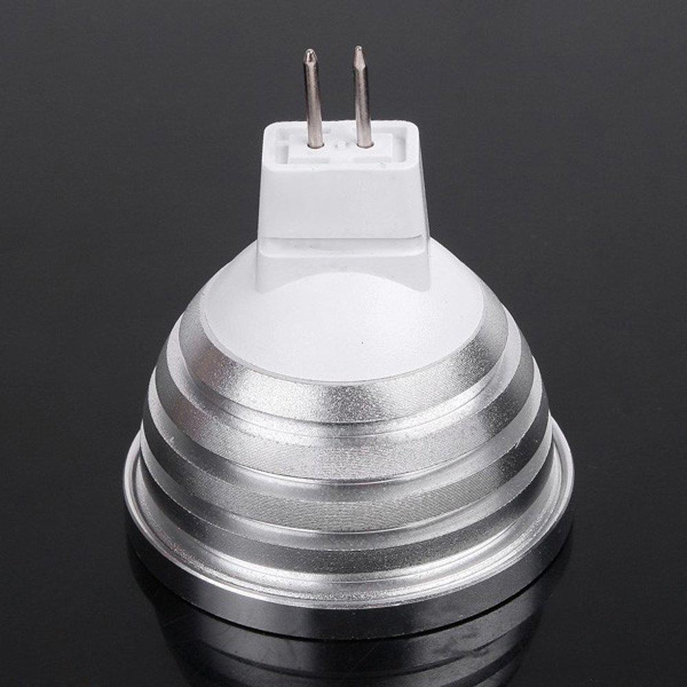 Mr16 Led Lap: 4W MR16 LED RGB Light Colorful Bulb Lamp 2 Million Colors