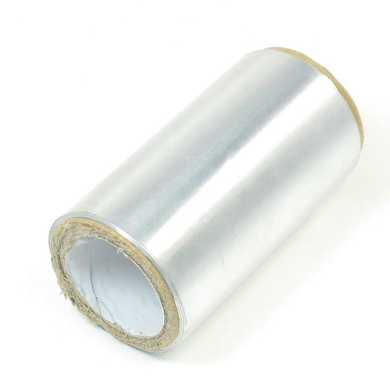 3X-1-rouleau-ton-argent-5m-de-bande-de-papier-d-039-aluminium-pour-cheveux-coif-C3I3