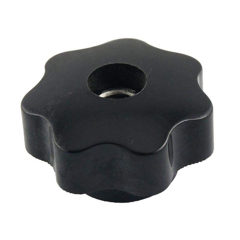 m10 10mm durchmesser thema schwarz kunststoff stern kopf feststellschraube m6g2 ebay. Black Bedroom Furniture Sets. Home Design Ideas