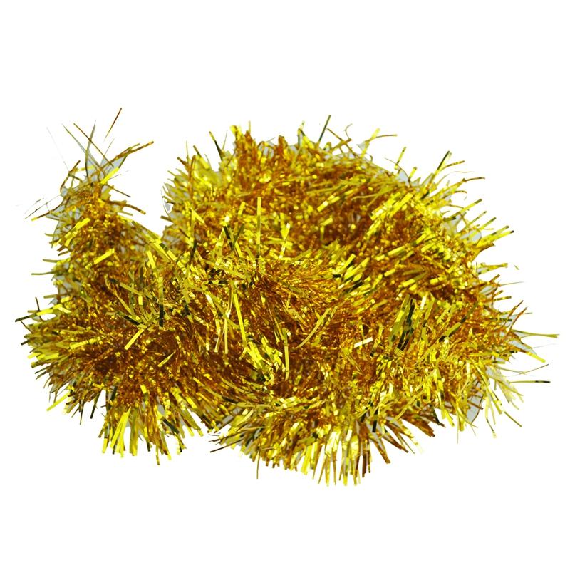 2m-6-5-Pi-Decorations-d-039-arbre-de-Noel-en-clinquant-Guirlande-I9W3 miniature 7