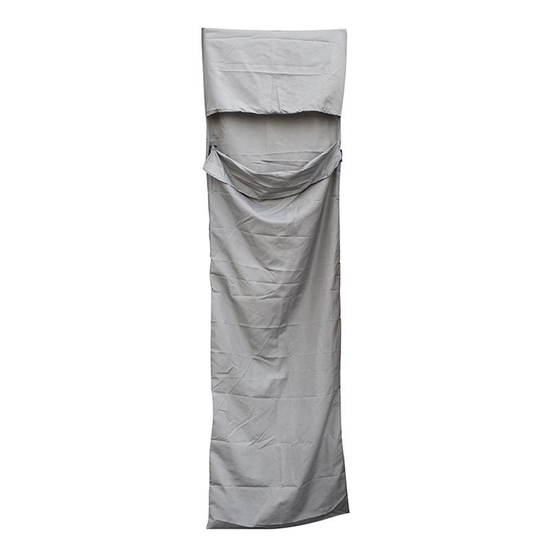 Departure-210-70cm-ultra-leger-portable-simple-sac-de-couchage-Liner-Poly-3F6 miniature 3