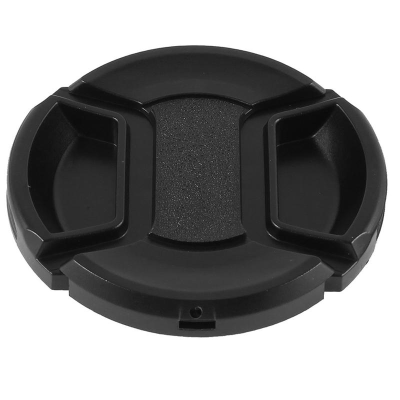 Importé De L'éTranger 55mm Centre Universel Pincement Lentille Frontale Casquette Pour Dslr H3h4