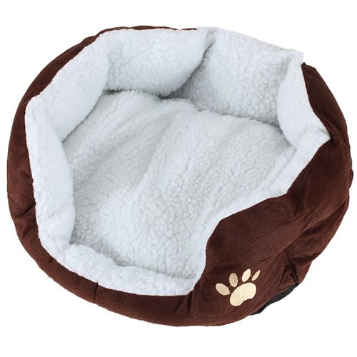 6X(Cart Basket Niche removable cushion House Bed For Dog Cat Pet Size S 46 K9D3