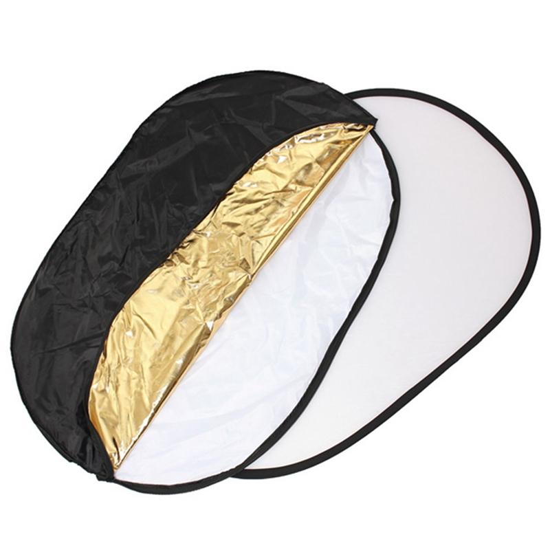 2x reflecteur de lumiere de photo pliable pour le studio. Black Bedroom Furniture Sets. Home Design Ideas