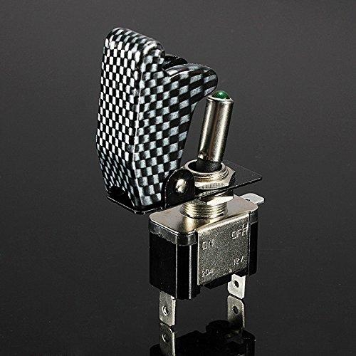 12V-20A-Palanca-del-Interruptor-basculante-inversor-On-Off-LED-ON-OFF-SPS-M9I5 miniatura 6