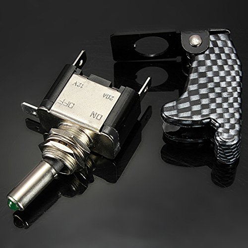 12V-20A-Palanca-del-Interruptor-basculante-inversor-On-Off-LED-ON-OFF-SPS-M9I5 miniatura 7