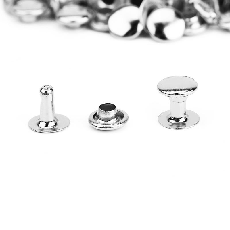 100pcs-DIY-hollow-nails-hat-rivet-6-mm-silver-X5L2