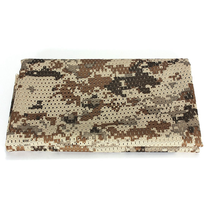 1X-Foulard-Echarpe-Cheche-Cache-Col-Camouflage-Tactique-Militaire-Armee-Pol-C3O5 miniature 8