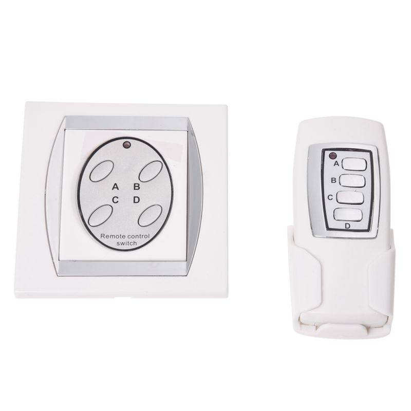 Details zu Fernbedienung Schalter 3 Kanal Remote Lichtschalter Funkschalter Wandschalt C0A7