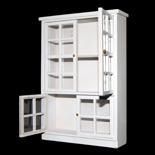 1 12 maison miniatures cuisine meubles salle a manger for Armoire salle a manger