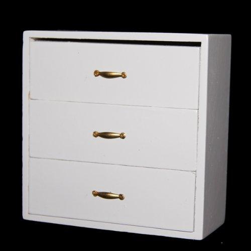 1 12 puppenhaus miniatur moebel wohnzimmer holzregal kombischrank de ebay. Black Bedroom Furniture Sets. Home Design Ideas