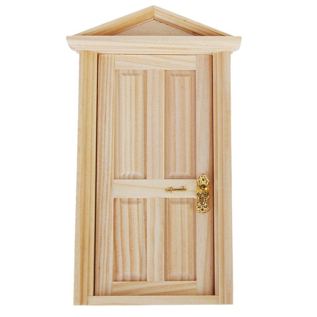 4 stueck tuerschloss mit schluessel fuer 1 12 puppenhaus miniatur de ebay. Black Bedroom Furniture Sets. Home Design Ideas