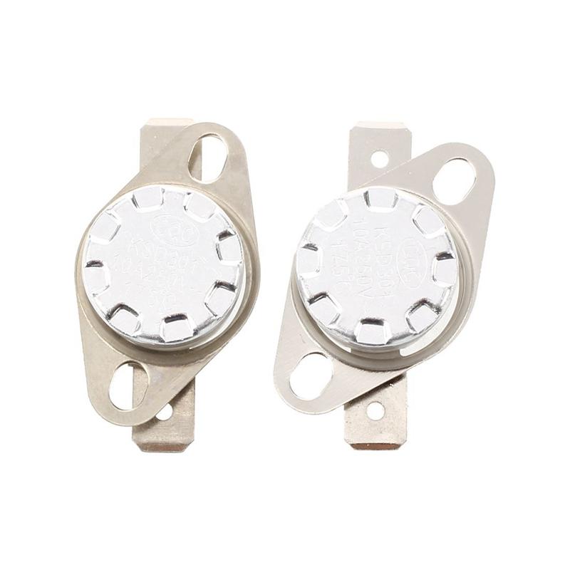 2/x KSD301/120/C Celsius Contr/ôle de la temp/érature Interrupteur Thermostat N.C.