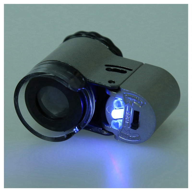 1x mini 50x con led luce luci yanchao lente d for Batteria bottone lr1130
