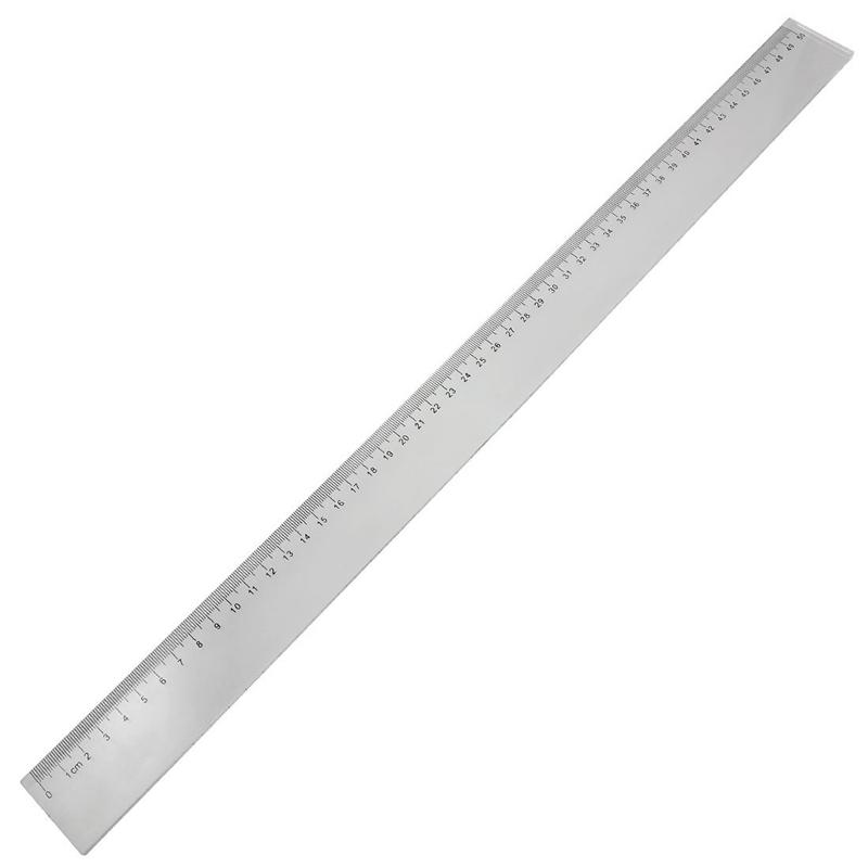 50cm-Clear-Plastic-Measuring-Long-Straight-Centimeter-Ruler-Q6H1