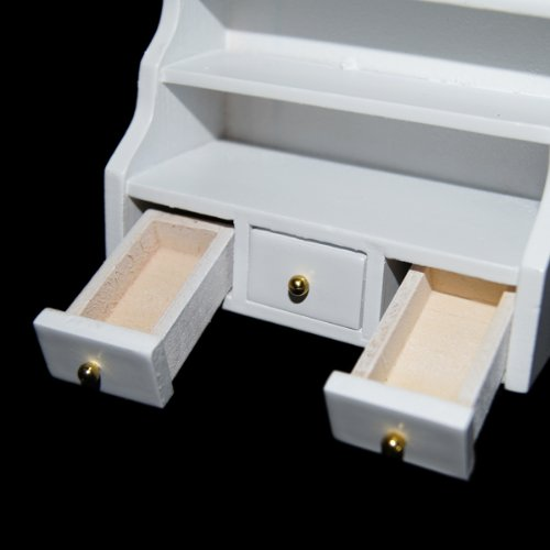 1-12-Muebles-en-miniatura-de-casa-munecas-Gabinete-tocador-bano-Blanco-X8A2o3S9