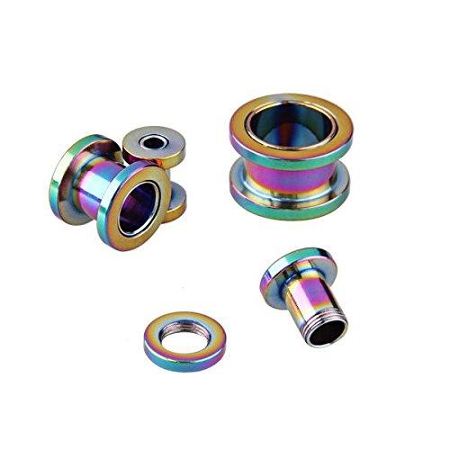 Kit di espansione dilator acciaio di titanio di for Piercing orecchio dilatatore