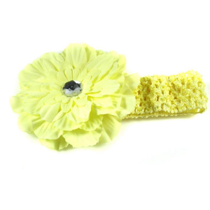 Herzhaft 1x Kleidung, Schuhe & Accessoires 12 Stueck Lot Maedchen Pfingstrose Stirnband Hairband Haar Silk Blumen Kp7u9