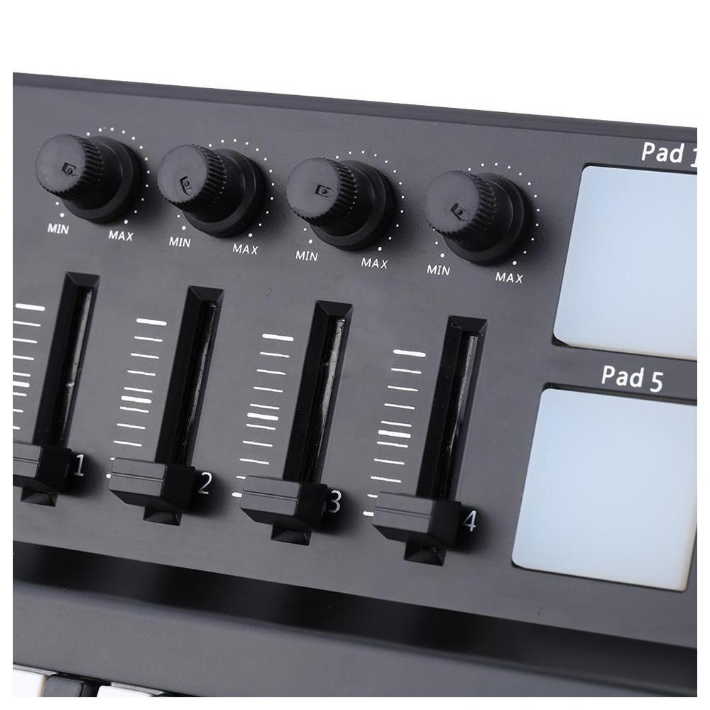worlde panda portable 25 key usb keyboard drum pad midi controller new ja3m j8q8 191466227459 ebay. Black Bedroom Furniture Sets. Home Design Ideas