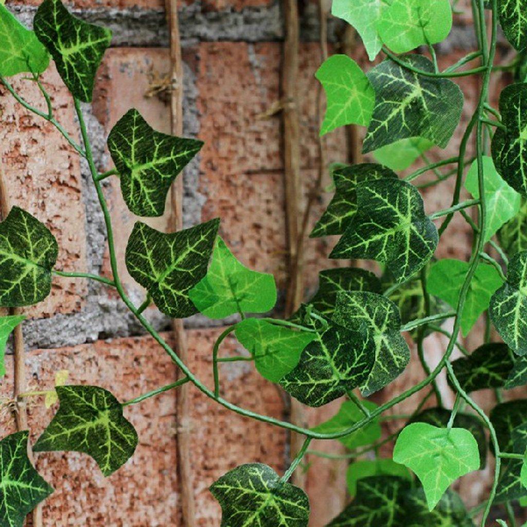 ma 12 x kuenstliche efeu weinlaub pflanzen zu hause suesse. Black Bedroom Furniture Sets. Home Design Ideas
