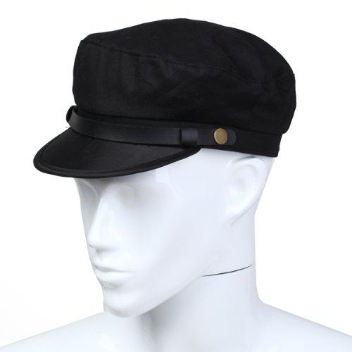 Captain-Sailor-Marine-Cap-Cotton-Color-Black-Men-New-W7F3-W7F3