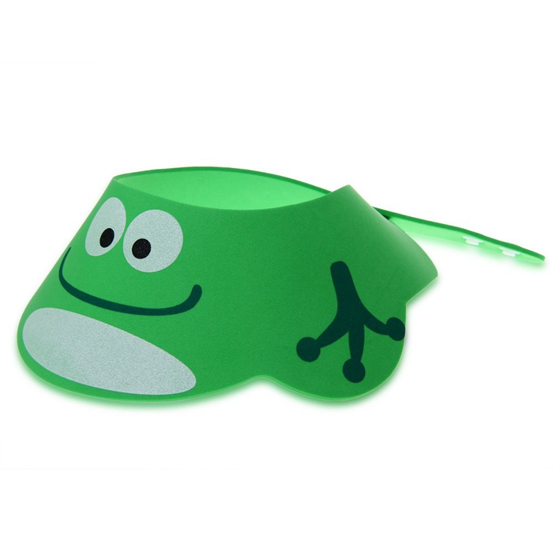 Baby Kid Toddler Bath Shower Cap Hat Wash Hair Shampoo Shield Adjustable Gr U1W8