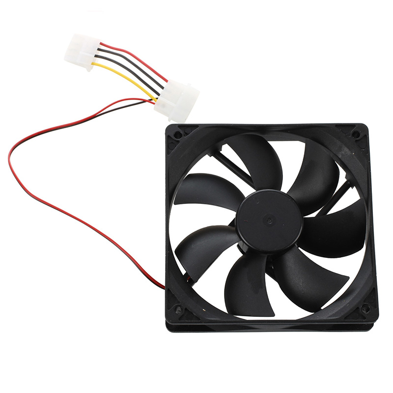 120mm x 25mm DC 24V 4Pin Sleeve Bearing Computer Case Cooling Fan S2V2