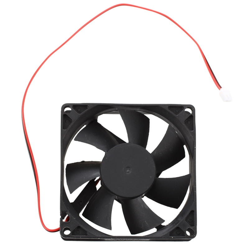 80mm-DC-12V-2pin-PC-Computer-Desktop-Case-CPU-Cooler-Cooling-Fan-T4K9 thumbnail 2