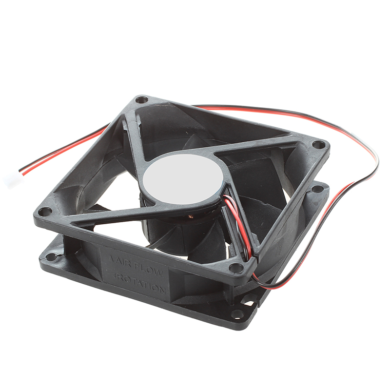 80mm-DC-12V-2pin-PC-Computer-Desktop-Case-CPU-Cooler-Cooling-Fan-T4K9 thumbnail 3