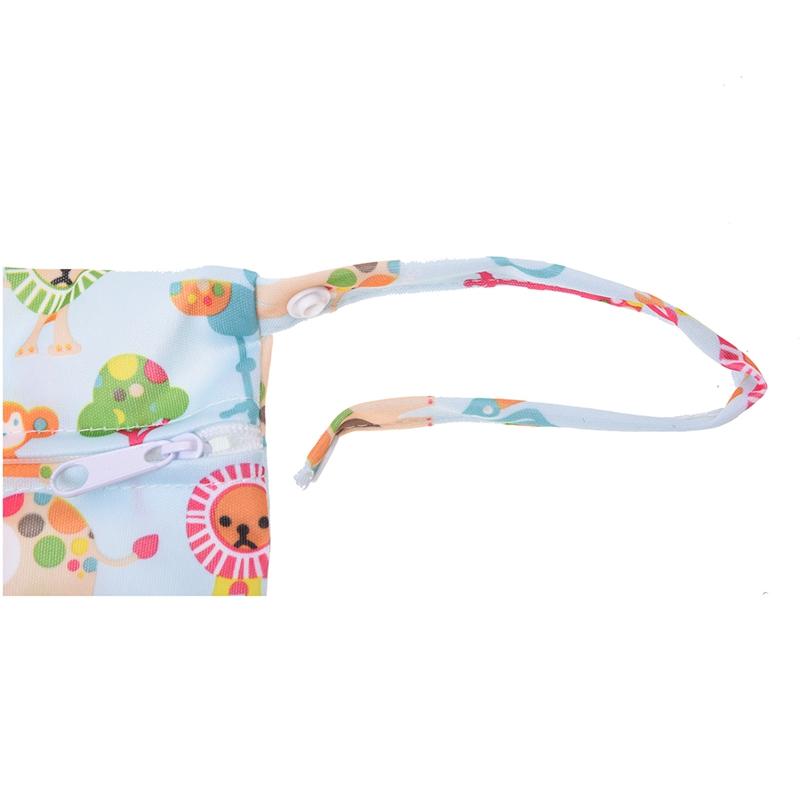 Sac-a-couches-lavables-etanche-zippe-Colorful-Owl-Pattern-Pink-Y4M2-92 miniature 15