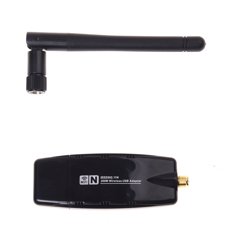 Details about 300Mbps 300M USB Wireless Adapter WiFi Lan Network Card IEEE  802 11b/g/n Ant ZH