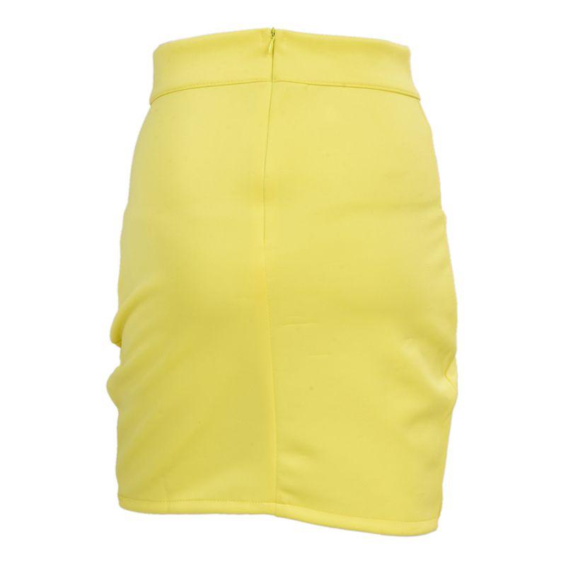 Dame-elegante-Casual-Party-a-la-mode-pour-femme-Mini-jupe-court-Stretch-Bod-T7E2 miniature 10