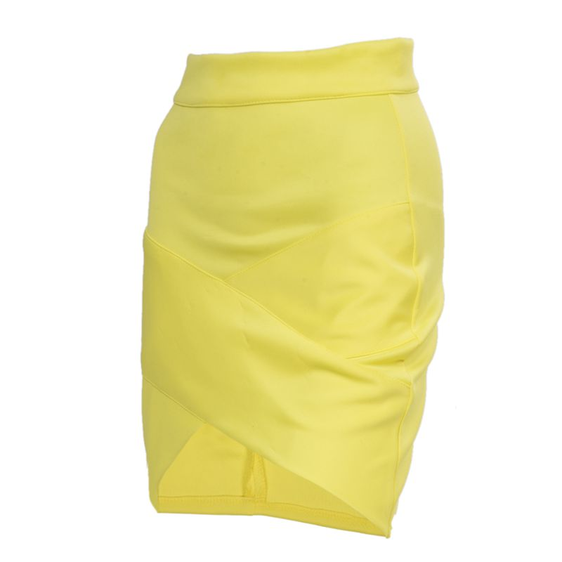 Dame-elegante-Casual-Party-a-la-mode-pour-femme-Mini-jupe-court-Stretch-Bod-T7E2 miniature 11