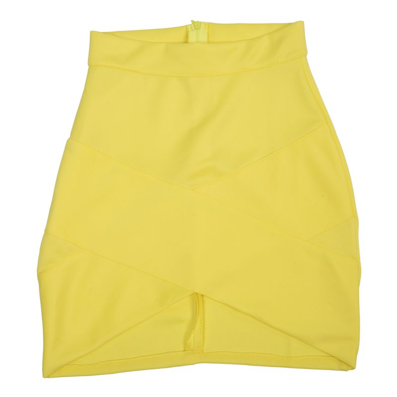 Dame-elegante-Casual-Party-a-la-mode-pour-femme-Mini-jupe-court-Stretch-Bod-T7E2 miniature 13