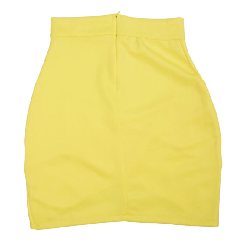 Dame-elegante-Casual-Party-a-la-mode-pour-femme-Mini-jupe-court-Stretch-Bod-T7E2 miniature 14
